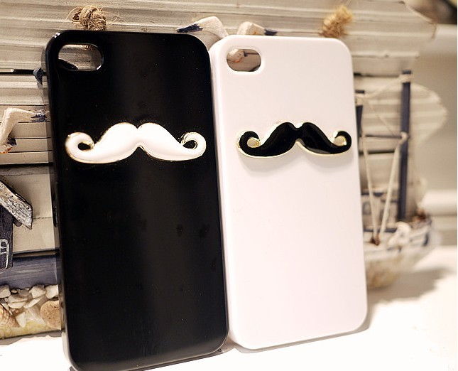 Cute iphone 4 cases unique beard iphone 4 cases iphone for Creative iphone case ideas